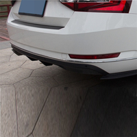 tuning Rear Diffuser Car Front Lip Upgraded Parts Decoration Auto Exterior Bumpers protector 16 17 18 FOR Skoda Superb