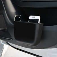 Caja de almacenamiento de plástico para tarjetas de coche, bolsillo de asiento de coche automático, a prueba de fugas, organizador, caja de almacenamiento, contenedor para automóvil