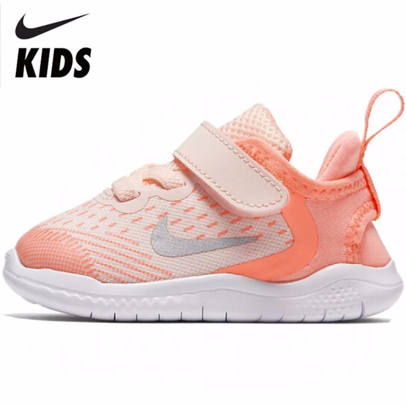 NIKE FREE Original New Arrival Kids Breathable Mesh Running Shoes Comfortable Children Sports Sneakers #AH3456-800