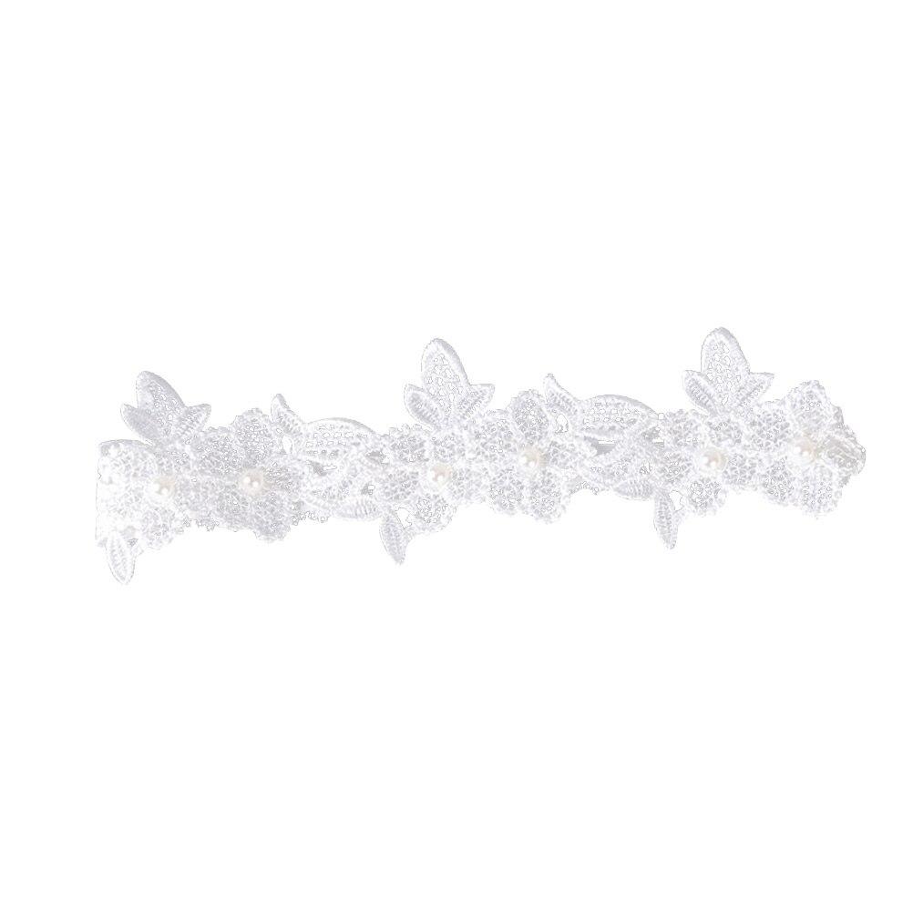 1 Pc Westlichen Hochzeit Elegante Braut Strumpfband Floral Braut Elastische Spitze Strumpfband Gürtel Fuß Decor Um Sowohl Die QualitäT Der ZäHigkeit Als Auch Der HäRte Zu Haben