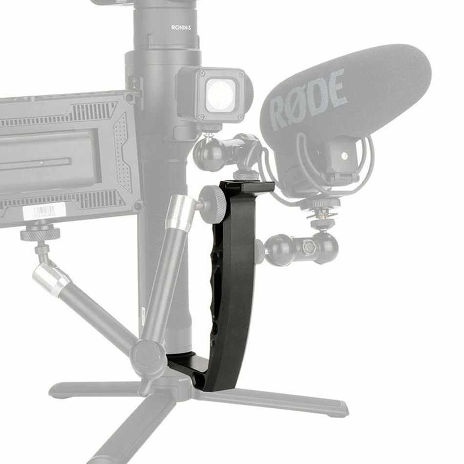 למעלה עסקות עבור Dji אוסמו נייד 2 ללא מעצורים S ידית הר Gimbal L סוגר TransMount מיני אחיזה כפולה עבור צג LED אור M