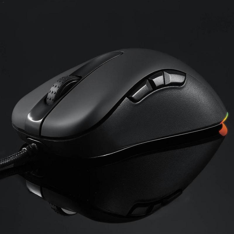 Motospeed V100 PAW3327 moteur 20 millions fois professionnel commutateur de jeu RGB esport souris de jeu - 3