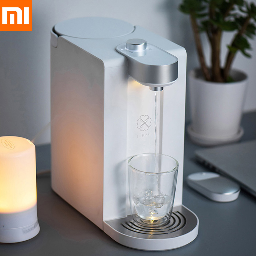 Xiaomi Youpin S2101 1800ML Capacity Smart Heating Water 3 Seconds Instant Heating Water Dispenser Small Size High Outlet DesignXiaomi Youpin S2101 1800ML Capacity Smart Heating Water 3 Seconds Instant Heating Water Dispenser Small Size High Outlet Design