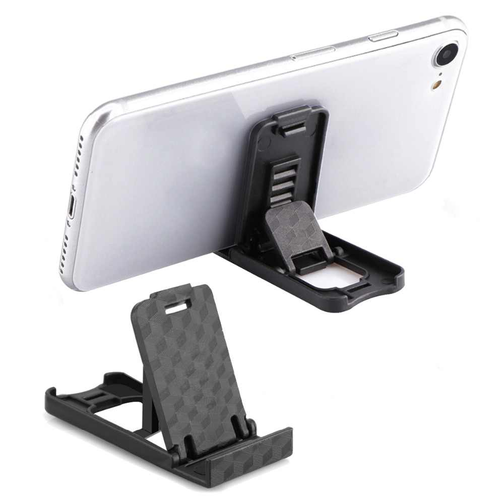 Portable Mini Mobile Phone Holder Foldable Desk Stand Holder 4 Degrees Adjustable Universal for iPhone Andorid Phone