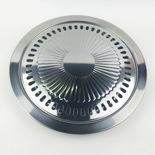 цена на Outdoor Smokeless Barbecue Grill Pan Gas Household Non-Stick Gas Stove Plate BBQ Barbecue Tool