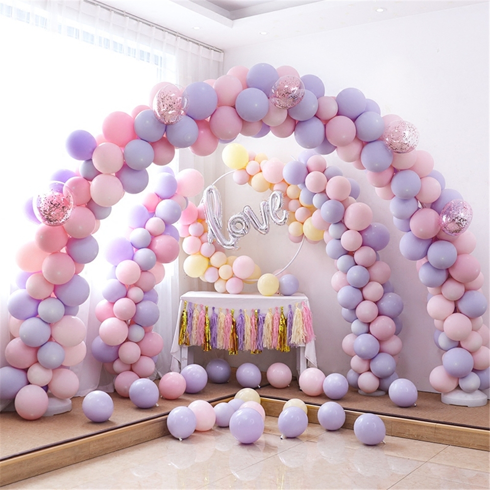 Macaron latex ballons mariage arches décoration confettis ballon amour saint valentin fête boules mariée douche décor fournitures