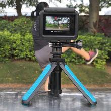 Mini Tripod Portable Extension Pole Handheld Self-Pole Shorty Go Pro flexible Monopod Stick Mount for Gopro Action Cameras