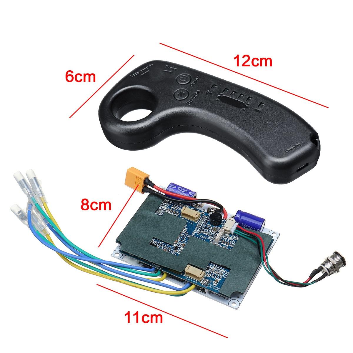 36VV skateboard électrique double moteur Longboard Drive Controller ESC Hub moteur Mini À Distance skateboard électrique Accessoires - 5