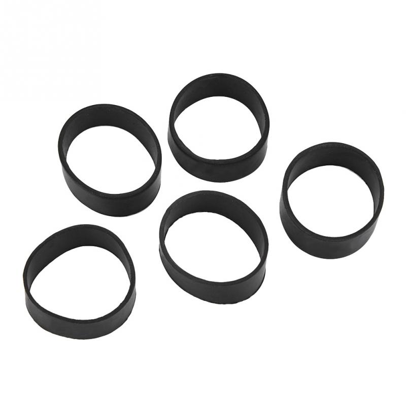 Fealay 5PCS Rubber Fixing Band Diving Weight Belt Fixing Rubber Ring Webbing Weight Ring for Scuba Diving Accessories
