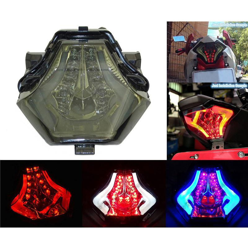 Bulb Led Y15zr: BEESCLOVER Motorcycle Rear Tail Light Brake Turn Signals