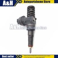 Remanufactured Fuel Injector 038130073BA CD For VW Passat Audi Skoda 1.9 TDI Bosch Diesel
