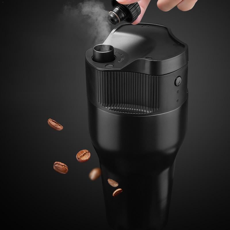 Machine à café de puissance Mobile d'extraction de circulation Mini Capsule automatique ménage Portable café extérieur manuel café thé