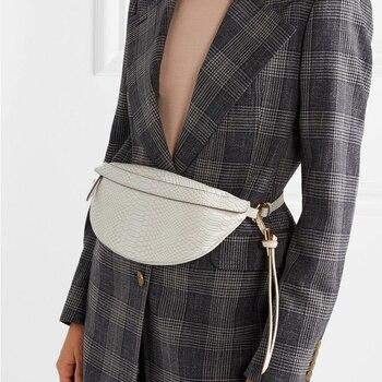 Snake Pattern Belt Bags