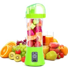380ML Portable Blender Juicer Cup USB Rechargeable Electric Automatic Vegetable Fruit Citrus Orange Juice Maker Cup Mixer Bottle(China)