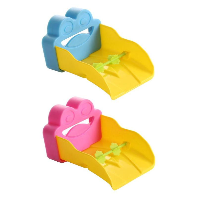 Cute Cartoon Frog Shape Bathroom Sink Faucet Extender Kids Hand Washing Tools device Children's Faucet Extension Accessories