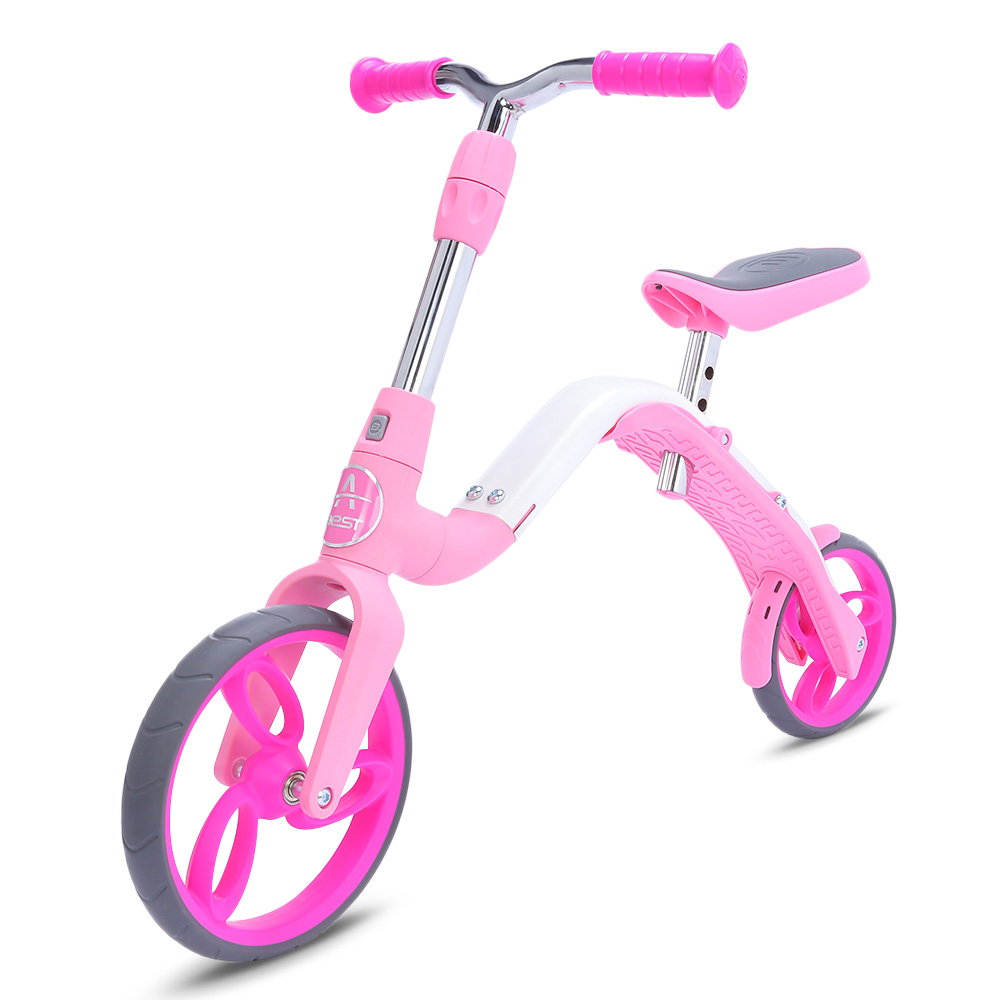 AEST B02 Mini Kick Scooter Baby 3 In 1 Balance Bike Ride On Toys For Children