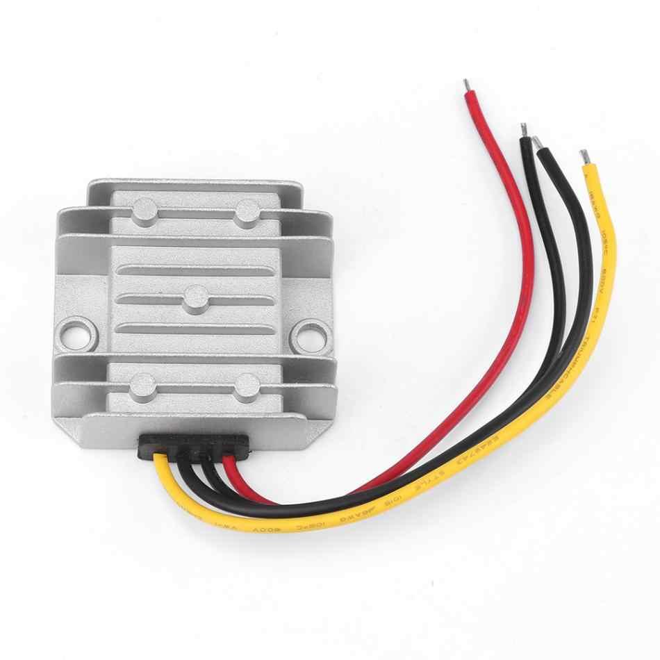 DC12V/24 В до 5 В пост 10A 50 W понижающий преобразователь понижающий стабилизатор напряжения модуль Водонепроницаемый IP68 конвертер Питание ЖК-дисплея прочный