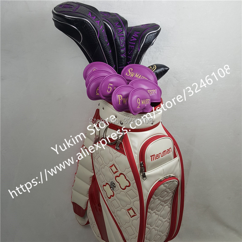 2019 Women Golf clubs set Maruman Majesty Prestigio 9 Golf Complete Set 11.5 loft Club Graphite Golf shaft Free shipping