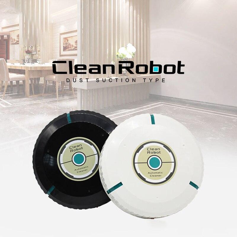1 Pc Aspiradora Robot De Limpieza Automática De Limpieza Delgada Removedor De Suelo Robótico Para El Polvo De Barrido Automático Del Hogar