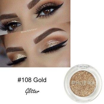 PHOERA-paleta de sombra de ojos mate, pigmento brillante Natural, resistente al agua, ahumado, Maquillaje, TSLM2, 3 unidades