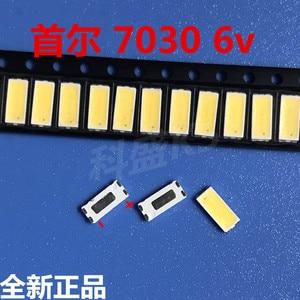 Image 1 - סיאול LED תאורה אחורית 1w 7030 6v מגניב לבן 90 100LM LCD מסך תאורה אחורית טלוויזיה טלוויזיה יישום STWBX2S0E 1000pcs