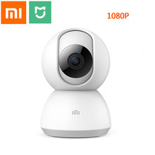 Xiaomi Mijia Smart IP Kamera 1080P WiFi Pan-tilt Nachtsicht 360 Grad Ansicht Detection Sicherheit Monitor smart baby Monitor(China)