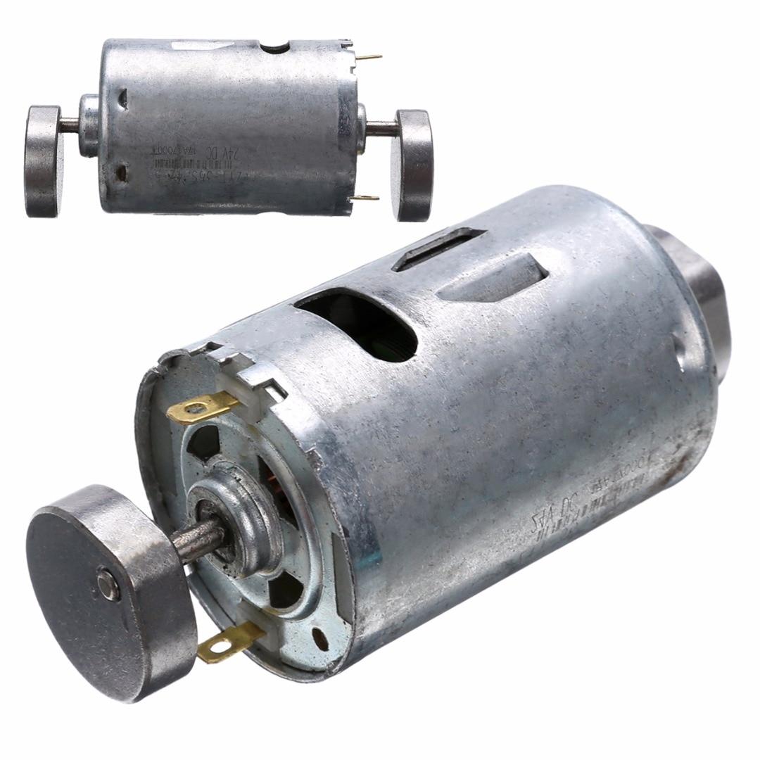 1Pcs DC 12V 24V 555 Vibrating Motor Dual Vibrator Strong Vibration Motor For DIY Massager High Quality