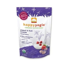 Happyyogis AY28550 Happy Yogi Mixed Berry Yogurt Snacks -8x1 Oz()