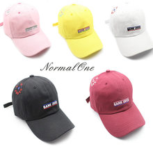 3abc6c4e406 Women Men Hip Hop Kpop Bboy Snapback Baseball Cap Embroidery Letter Game  Casual Sun Visor Fashion Dad Hat Caps Normal One Brand