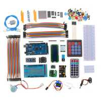 DIY Electronics Component Set with Plastic Box Suitable Ultimate Starter Learning Kit for Arduino MEGA 2560 LCD1602 Servo Motor