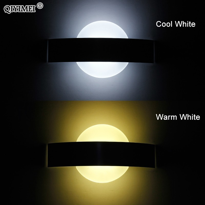 Wall Lamps circle acrylic material for livingroom bathroom for home Decoration Sconce Light 90-260V lamparas de paredWall Lamps circle acrylic material for livingroom bathroom for home Decoration Sconce Light 90-260V lamparas de pared