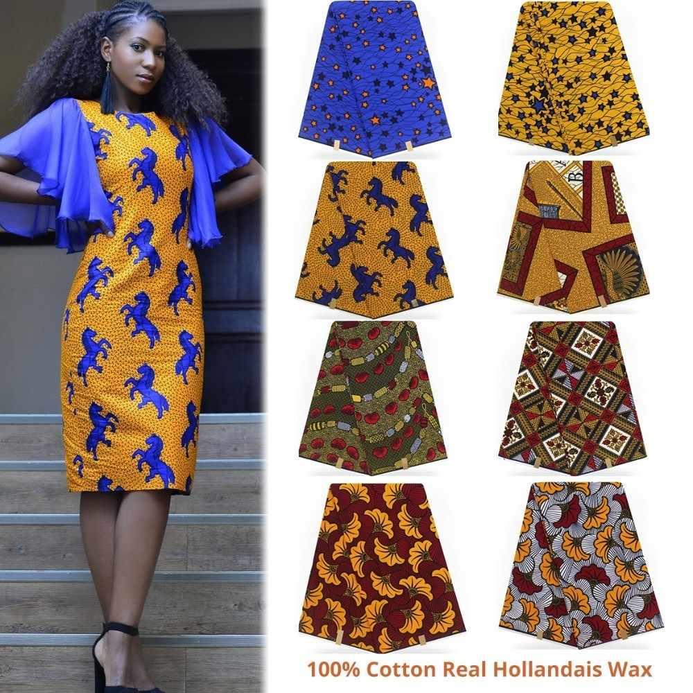 a285095e4 hollandais wax african fabric 100% Cotton ankara fabric high quality african  wax prints fabric 2019