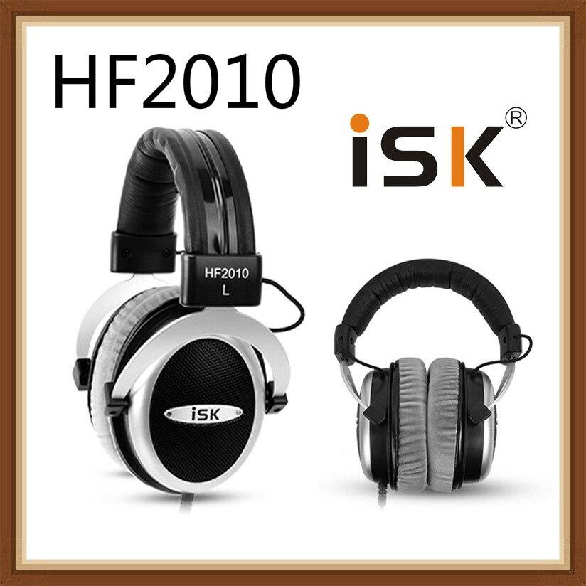 ISK HF2010 Semi open Monitor Headphones HiFi Stereo Earphone Studio Recording Audio Recording Headset Noise Canceling