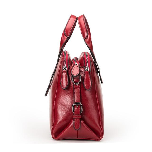 Double Zipper Totes Handbags  1