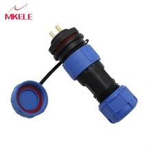 SP17-2 Waterdichte Chassis Panel  Plug Kabel IP68 Circulaire Luchtvaart Connector Mannelijke En Vrouwelijk Socket Butt
