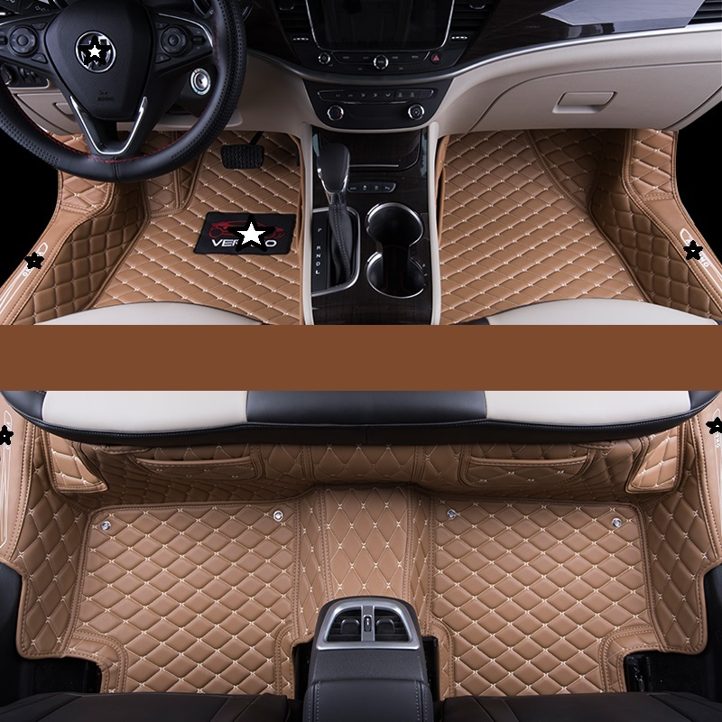 Auto Decorative Protector Modified Accessories Modification Automobile Mouldings Car Carpet Floor Mats For Volkswagen Lamando Interior Accessories