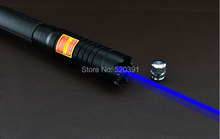 AAA Most Powerful 500000m 500w 450nm Blue Laser Pointers Flashlight Burn Match Candle Lit Cigarette Wicked LAZER Torch Hunting