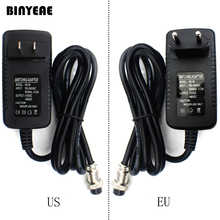 Switching Power Adapter for Audio Mixer, 4 Hole to 4 Pin Plug for US 100 120V / EU 220~240V, Output 15~48VDC for Sound System