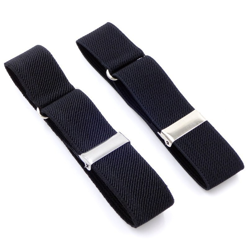 Polyester Elastic Unisex Armbands Sleeve Garter Adjustable Gift Shirt Sleeve Holders Elastic Sports Fashion Business Accessories