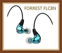 Форрест FLC8N гибридный двойной сбалансированный арматурный динамический 2BA + DD Hifi музыкальное контролирующее устройство Студия DJ 3,5 мм/2,5 мм вставленные наушники