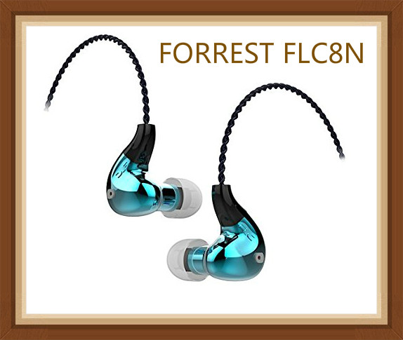 FORREST FLC8N Hybrid Dual Balanced Armature Dinamico 2BA + DD Musica Hifi Monitor DJ Studio 3.5mm/2.5mm blanced Auricolari Auricolari