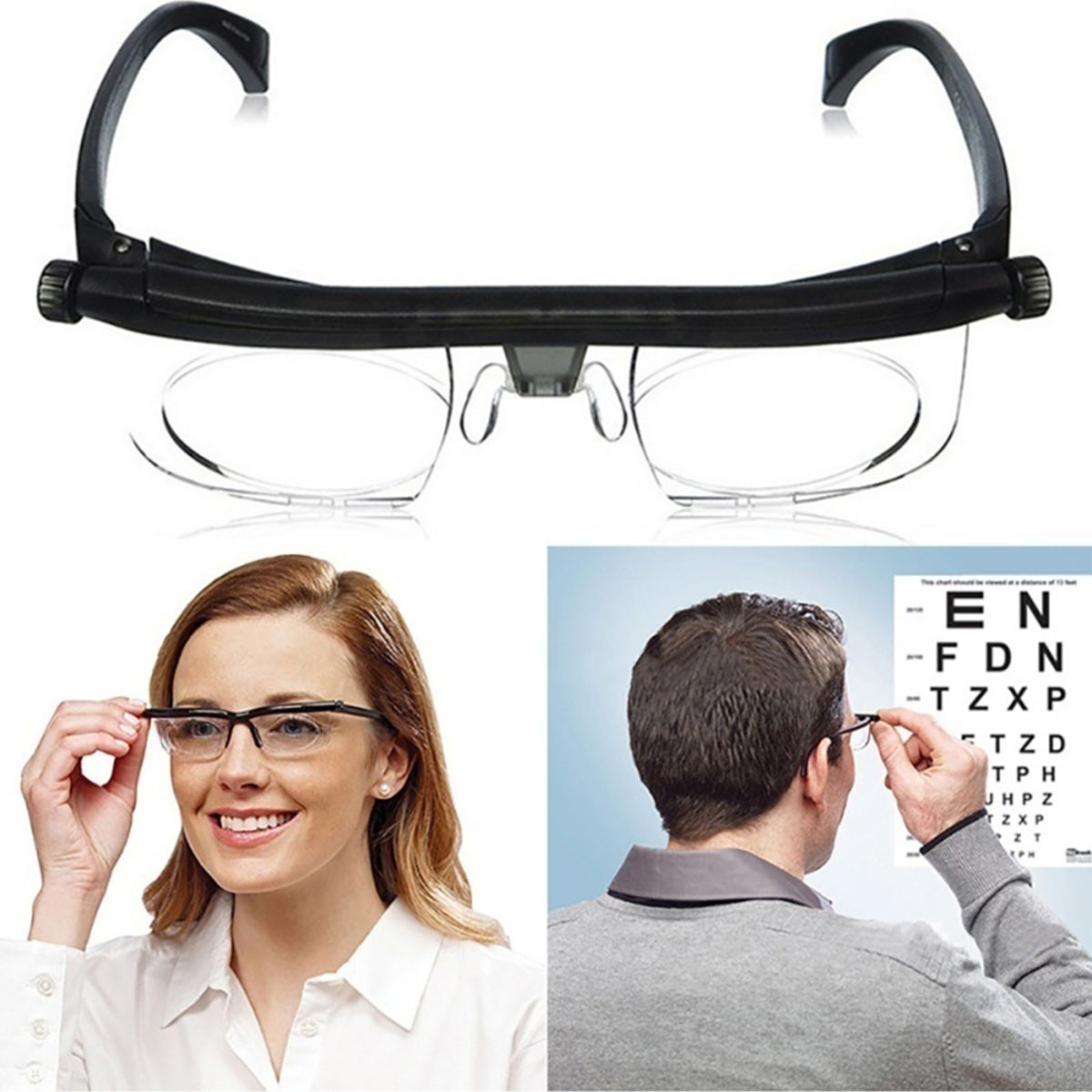 Adjustable Eyeglass Frames