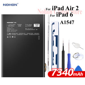 Nohon Battery Bateria Tablet Li-Polymer iPad6 7340mah Apple for 6-air-2/A1547/7340mah/..