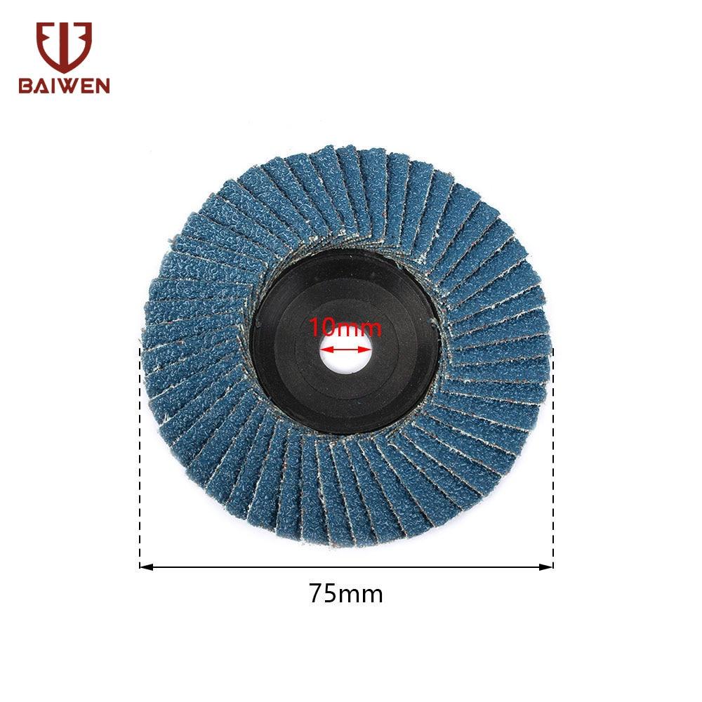 75mm Zirconia Alumina Flap Disc 3