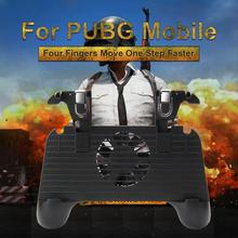 Applicable to PUBG Mobile mobile gamepad cooling pad mobile power 2500mAh for Android IOS All allow custom button games