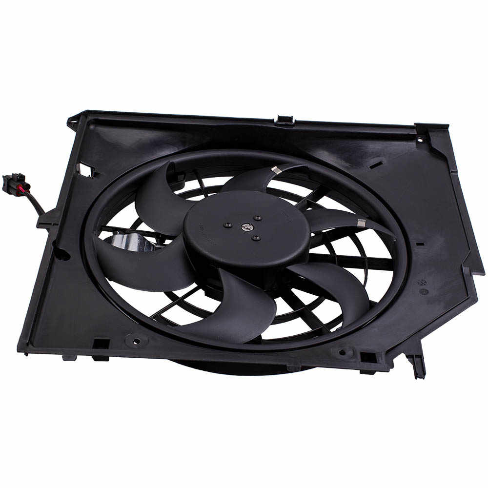 hight resolution of radiator thermo fan for bmw e46 3 series 6 blades control mod brush motor for 325i