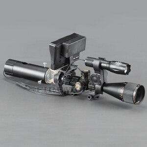 Image 4 - Portée de chasse Vision nocturne 656 ft infrarouge double usage portée de fusil ajouter sur bricolage écran vert et torche IR
