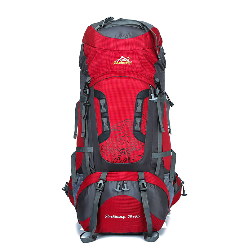 80L grande capacité randonnée Sac à dos en plein air Sport étanche Sac sec cyclisme Camping sortie alpiniste escalade voyage Sac à dos