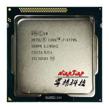 Processeur Intel Core i7-3770S i7 3770 S, i7 3770 S 3.1 GHz, Quad Core Eight-Core, 65W processeur d'unité centrale, LGA 1155