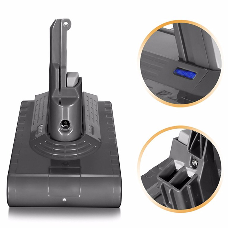 V8 3500Mah 21.6V Battery For Dyson V8 Battery Absolute V8 Animal Li Ion Vacuum Cleaner Rechargeable Battery 3.5Ah